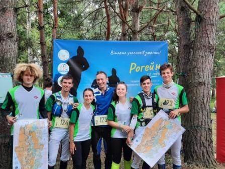 Команда Закарпатської області взяла участь у чемпіонаті України зі спортивного орієнтування