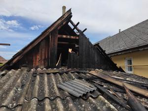 В Ужгороді горів житловий будинок