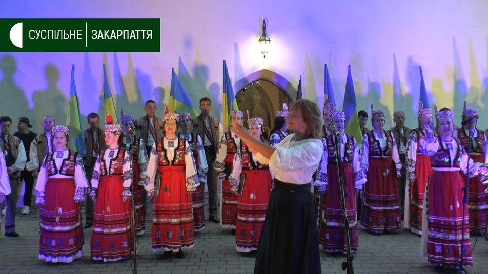 Світанок Дня Незалежності в Ужгороді зустріли «Молитвою за Україну»