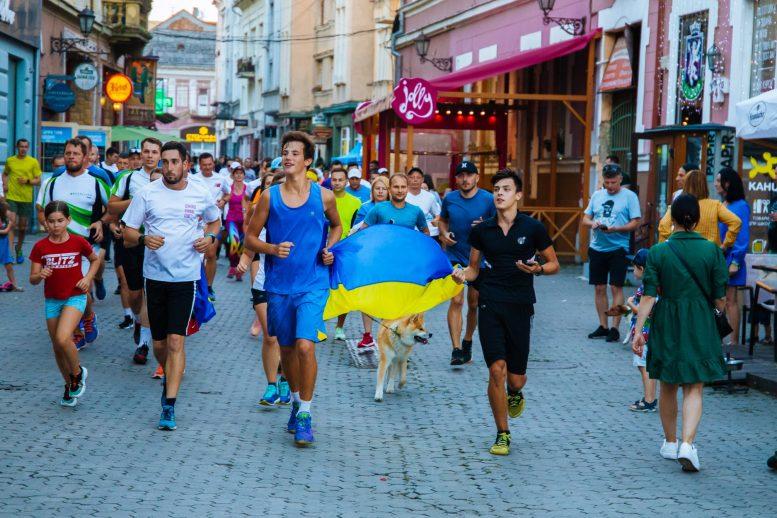 Ужгород встановив рекорд України з забігу на 1000 км