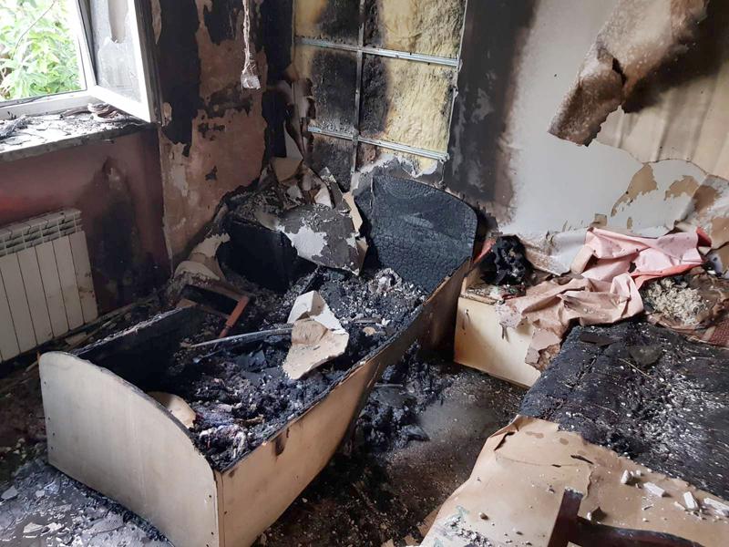 У Сваляві сталася пожежа в центрі соціально-психологічної реабілітації дітей