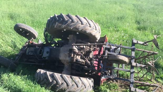 Смертельна ДТП на Рахівщині: перекинувся трактор, загинув водій