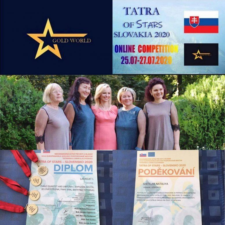 Перемога та міжнародне визнання ужгородського колективу «AD LIBITUM»