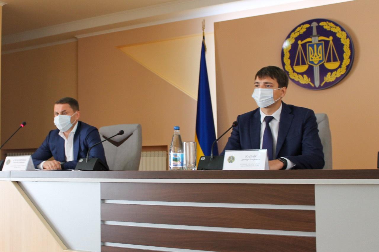 Колективу Закарпатської обласної прокуратури офіційно представили нового керівника