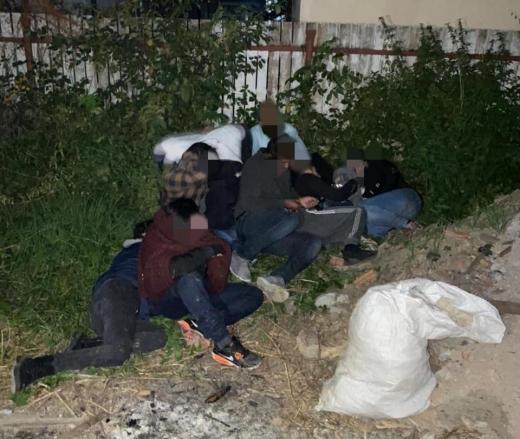 Правоохоронці затримали на Перечинщині групу нелегалів