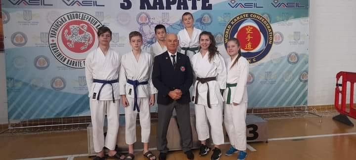 Юні спортсмени із Закарпаття вибороли нагороди Чемпіонату України з карате WKC
