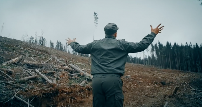 Іван Пилипець зняв кліп про нищівні вирубки Карпат (відео)