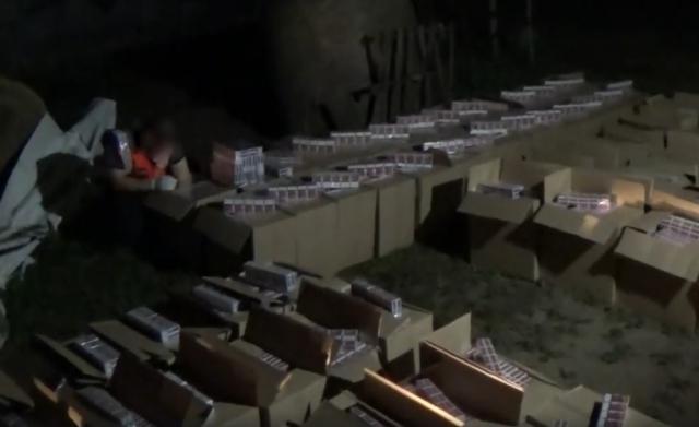 В сусідній Угорщині виявили склад з мільйоном пачок контрабандних сигарет, ввезених із Закарпаття (ВІДЕО)
