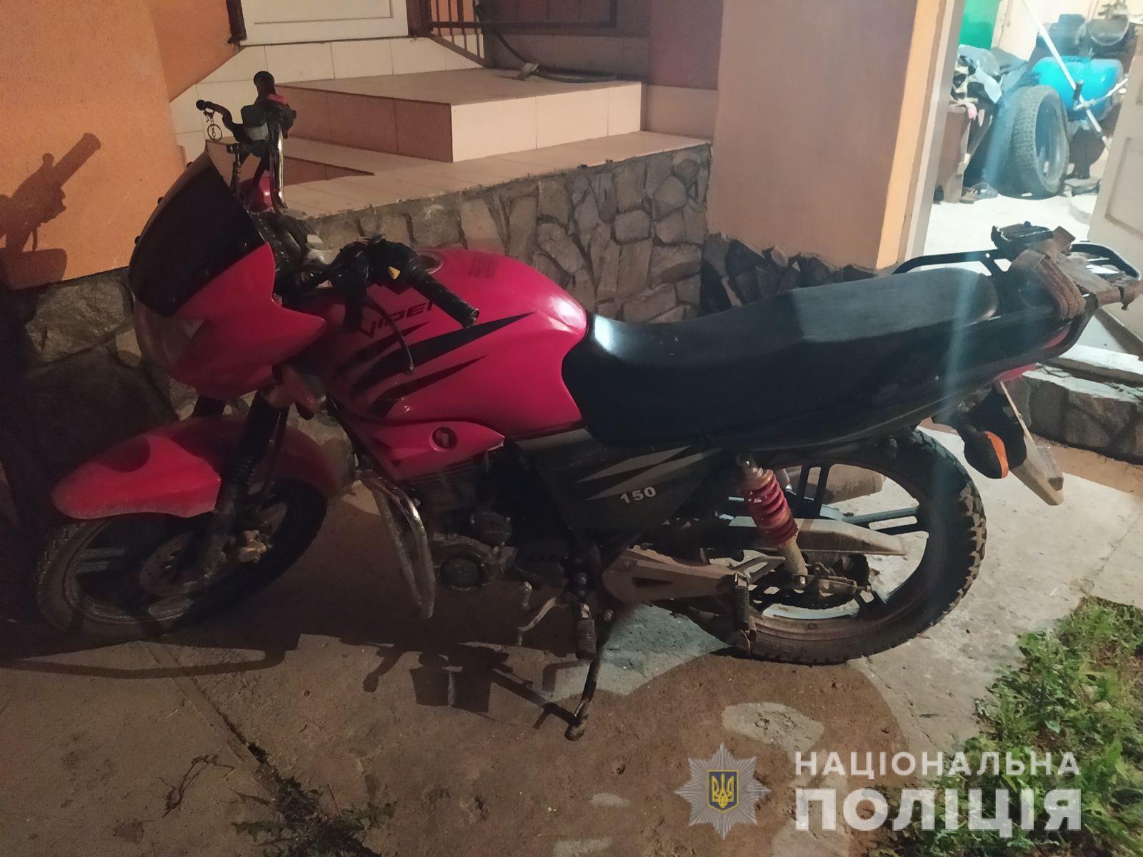 На Рахівщині п'яний мотоцикліст збив 8-річного хлопчика