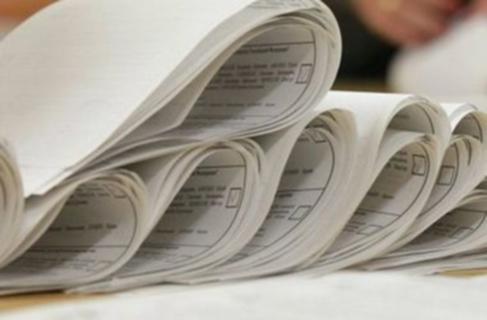 """Спостерігачі """"ОПОРИ"""" повідомили, що Ужгородська міська ТВК отримала бюлетені із затримкою"""