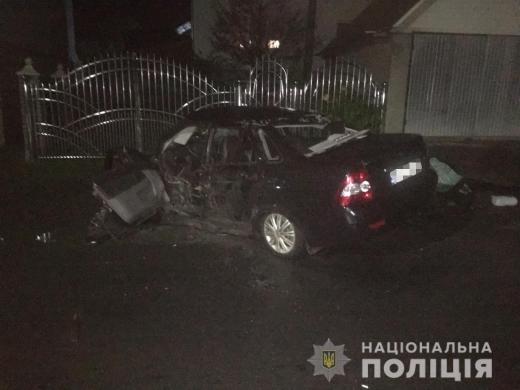 У ДТП на Тячівщині загинула жінка