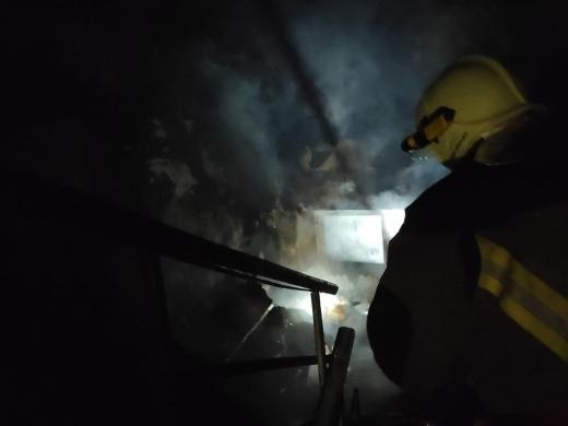 В Ужгороді сталася пожежа у п'ятиповерхівці