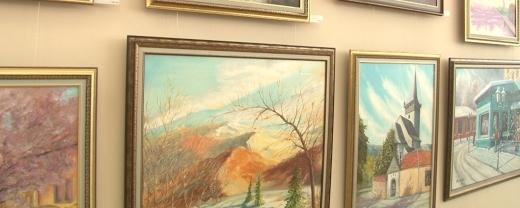 У Закарпатському музеї народної архітектури та побуту відкрили виставку картин Івана Жупана