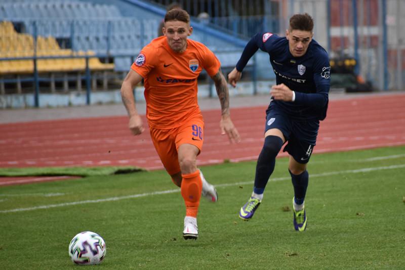 """Футбол: на стадіоні в Ужгороді зустрілися """"Минай"""" і """"Маріуполь"""" (0:1)"""