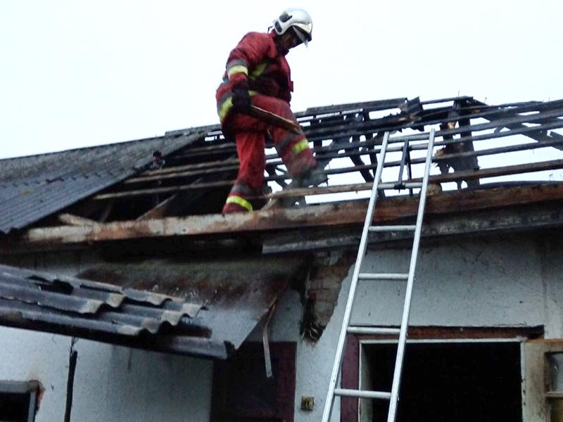 Іршавські вогнеборці врятували від знищення житловий будинок