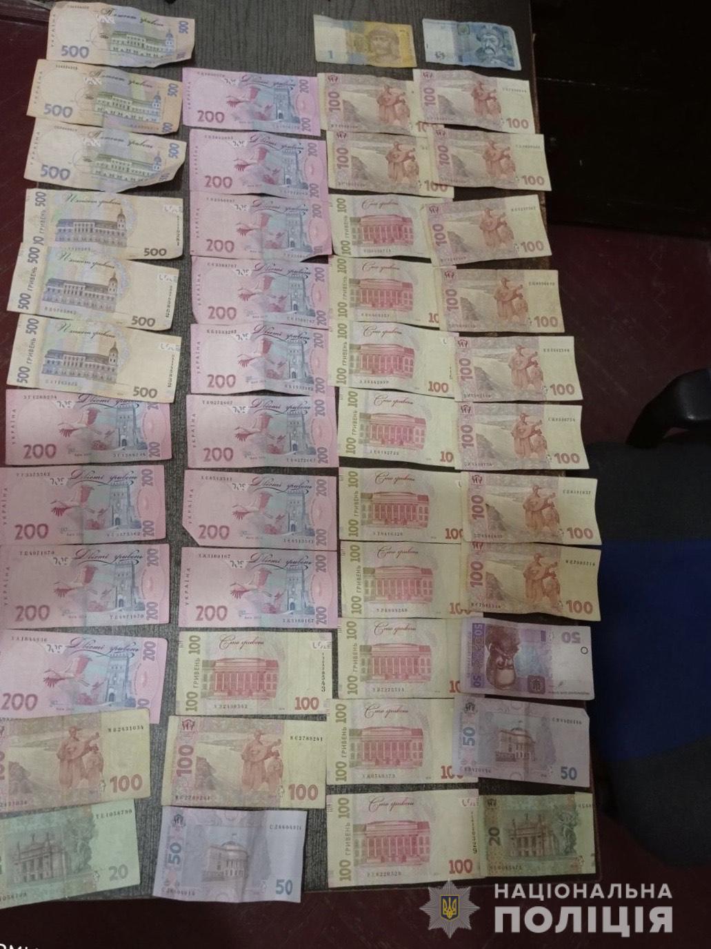Із сумки працівниці кав'ярні у Міжгір'ї чоловік викрав 10 тис грн