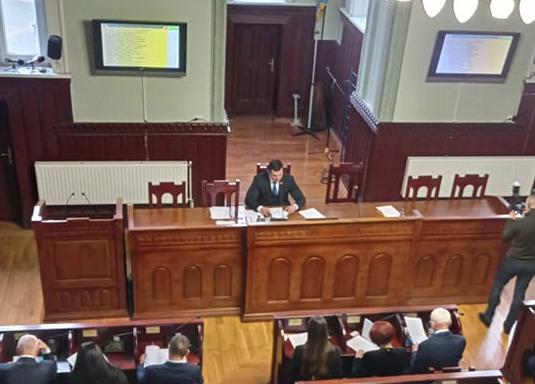 Балога зробив секретарем Мукачівської міськради представницю ОПЗЖ Яну Чубирко (відео)