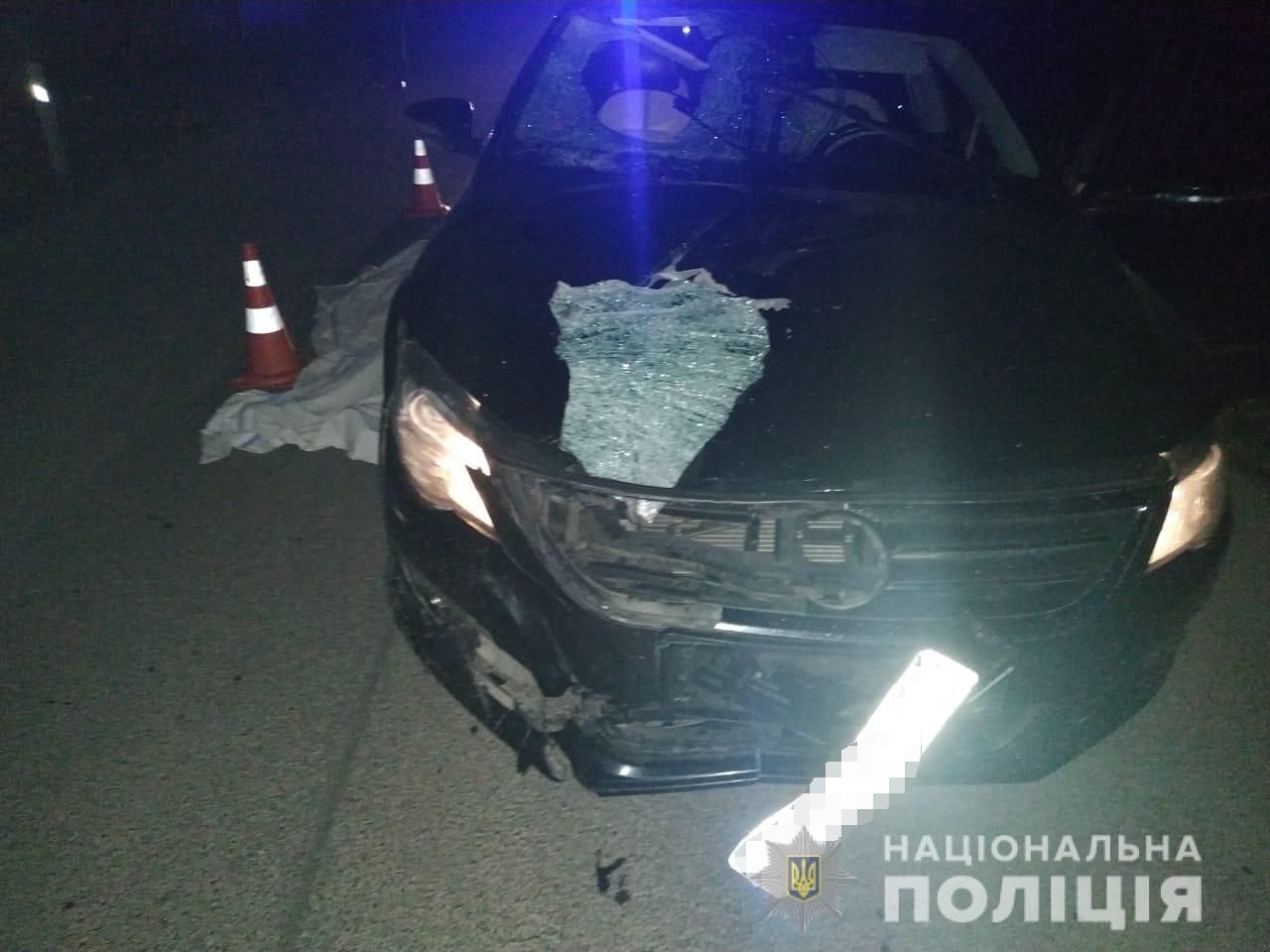 На Тячівщині водій авто збив насмерть жінку, що переходила дорогу