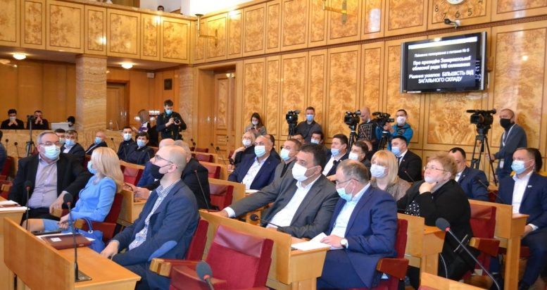 22 депутати Закарпатської облради проігнорували її друге засідання