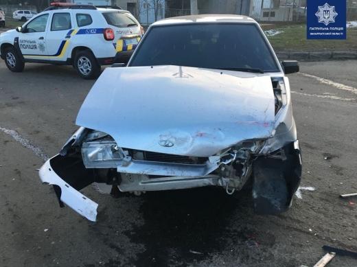 В Мукачеві затримали водія, який вчинив потрійну ДТП і втік