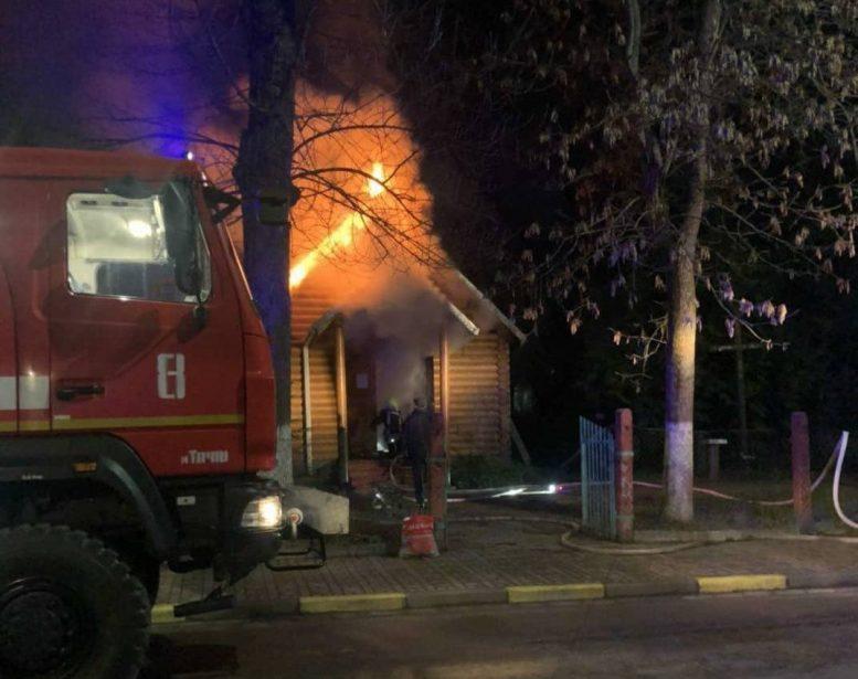 У Тячеві підпалили дерев'яну капличку Мукачівської греко-католицької єпархії