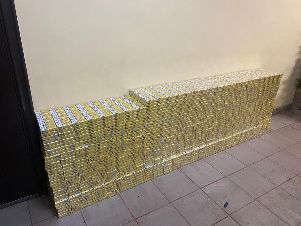 Контрабандисти втекли від закарпатських прикордонників, покинувши майже 4,5 тисячі пачок цигарок