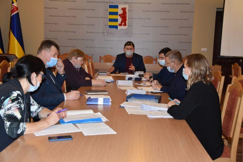 Сім профільних депутатських комісій облради провели свої засідання