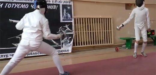 В Ужгороді пройшли всеукраїнські змагання з фехтування
