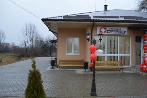 У чотирьох населених пунктах Закарпаття відкрили нові сучасні амбулаторії