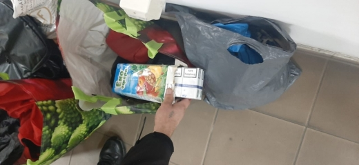 Контрабандисти намагалися непомітно пронести 4 ящики цигарок через пункт пропуску на Закарпатті
