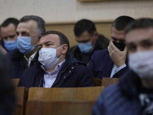 Олексію Петрову не вдалося переконати депутатів Мукачівської райради обрати своїм головою Михайла Ланя