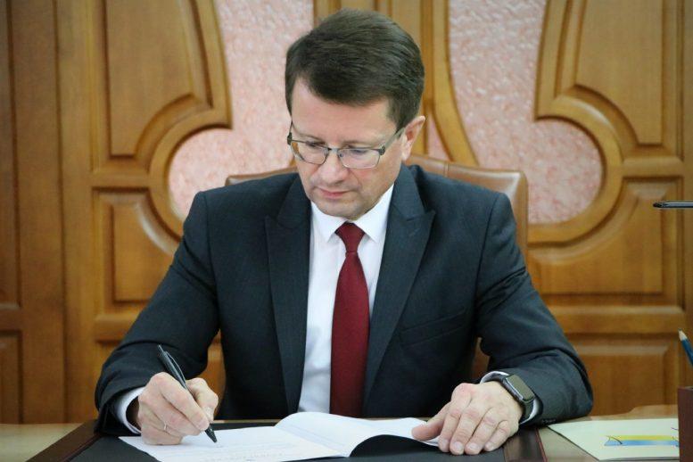 Анатолій Полосков приступив до виконання обов'язків голови Закарпатської ОДА