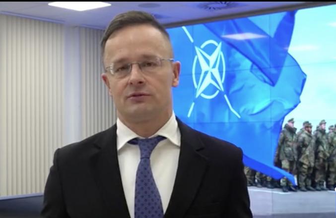 Глава МЗС Угорщини Петер Сійярто поскаржився ще й у НАТО на обшуки в угорських товариствах на Закарпатті (відео)