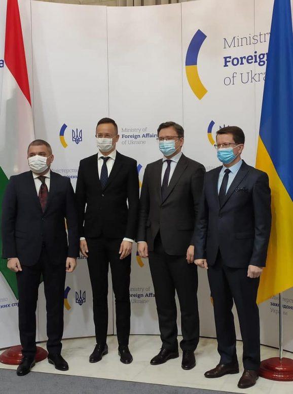 Керманичі Закарпаття взяли участь у зустрічі глав МЗС України та Угорщини