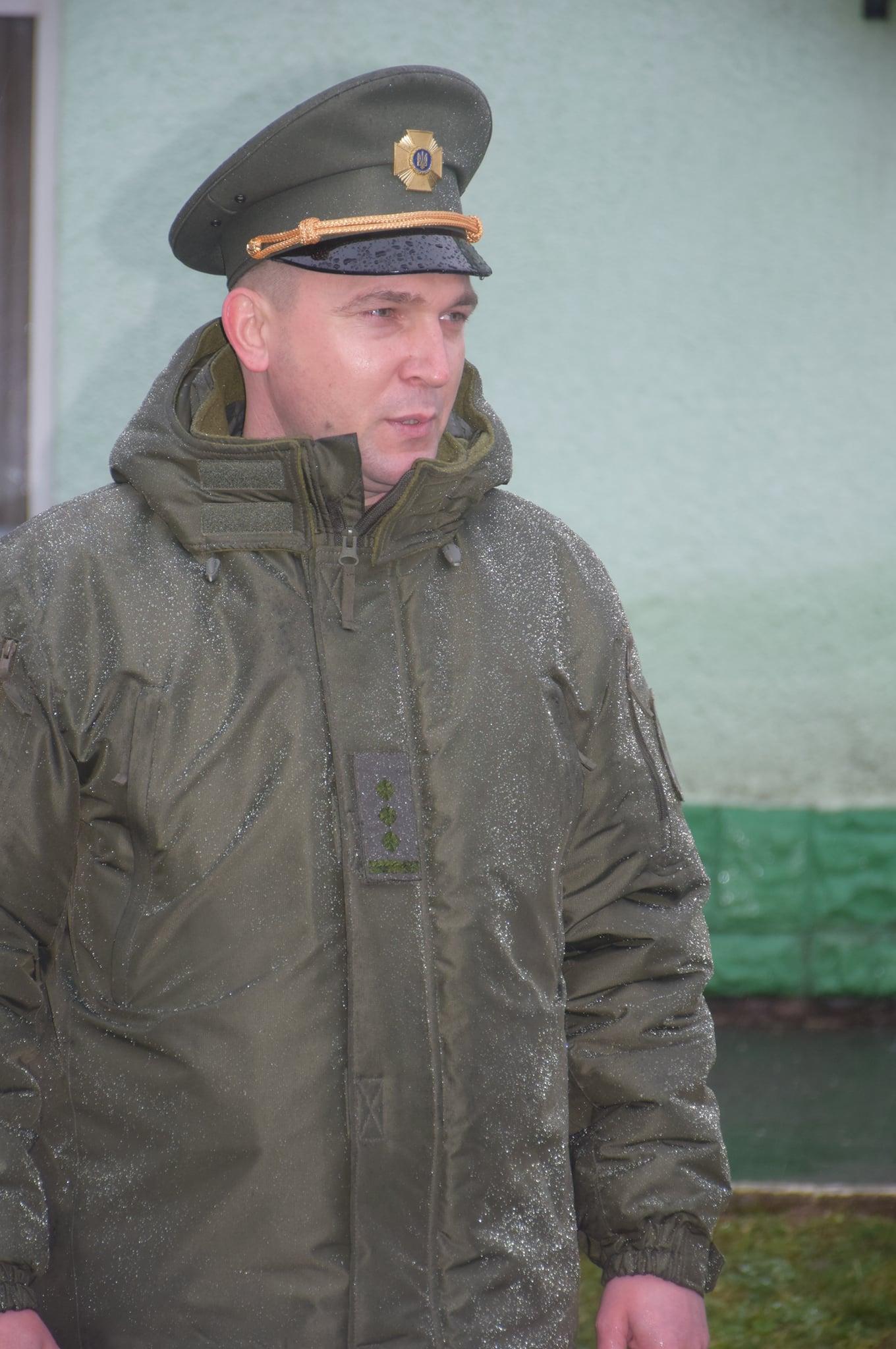 У Мукачівського прикордонного загону – новий керівник