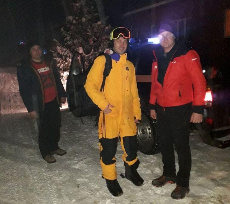 Рятувальники  відшукали заблукалого в горах Міжгірського району туриста