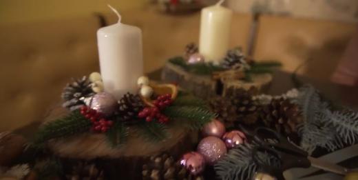Новорічні композиції робить ужгородка Мар'яна Стахова (відео)