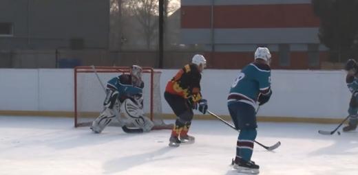 Чемпіонат області з хокею триває на Закарпатті (ВІДЕО)