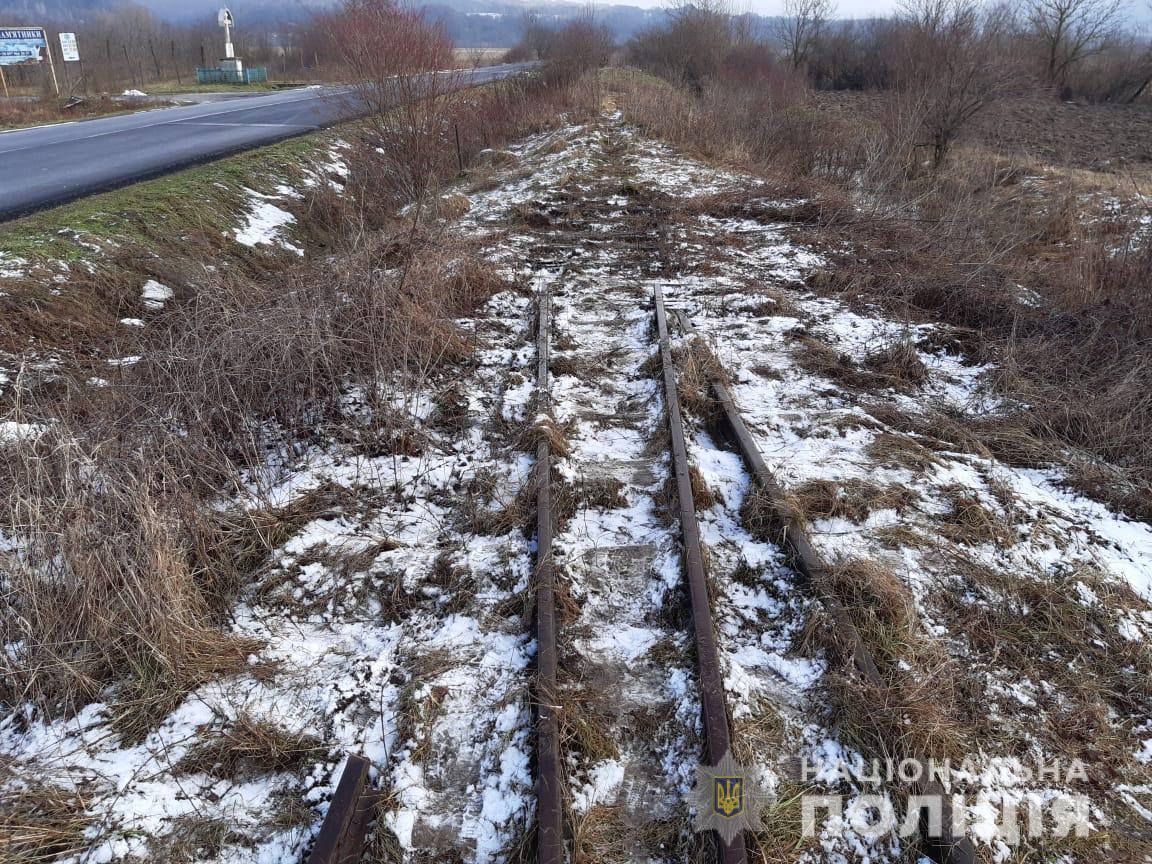 Розпочато кримінальне провадження за фактом демонтажу вузькоколійки на Іршавщині