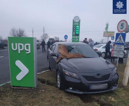В Ужгороді через зіткнення двох авто постраждав пішохід