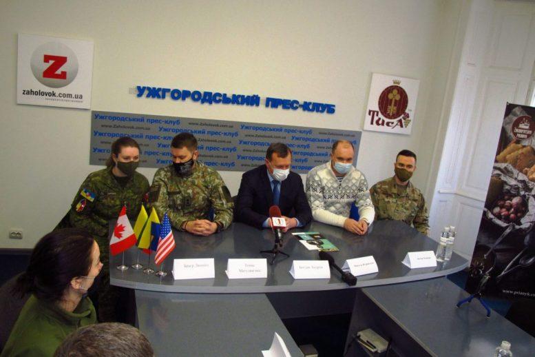 На Закарпатті військові здійснили крок до зміцнення дружніх стосунків між Україною і НАТО