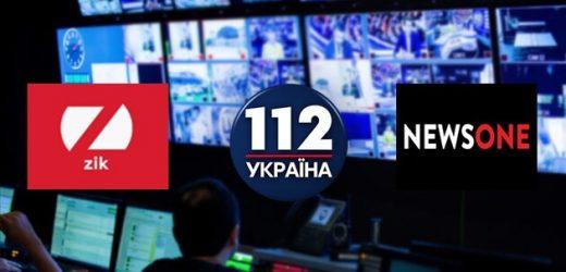 Зеленський ввів у дію рішення РНБО про блокаду каналів Медведчука