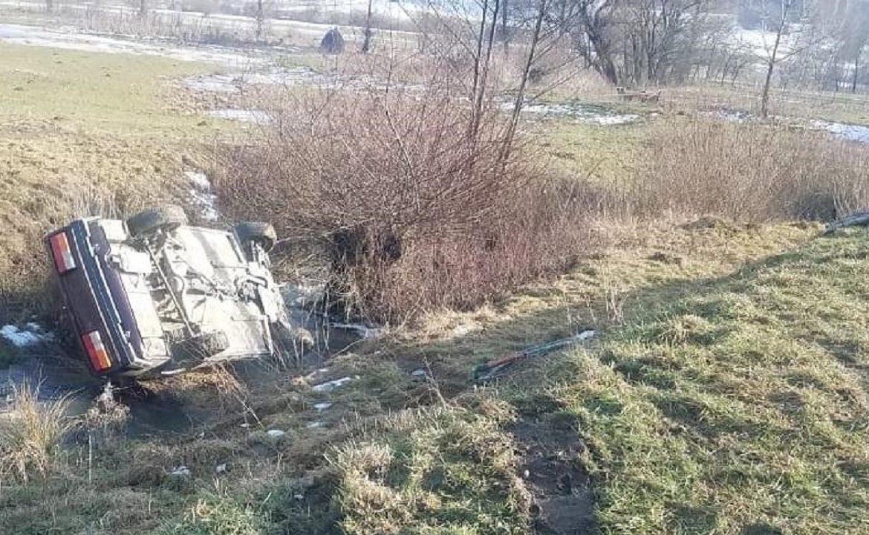 У ДТП на Тячівщині постраждало двоє дітей