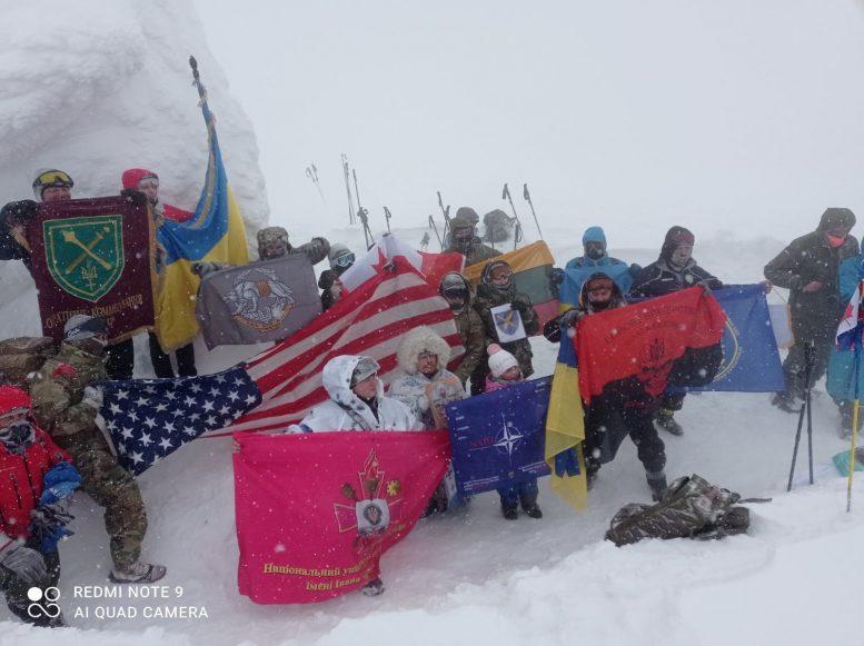 В Ужгороді військові НАТО та ЗСУ розкажуть про зимове сходження на Говерлу