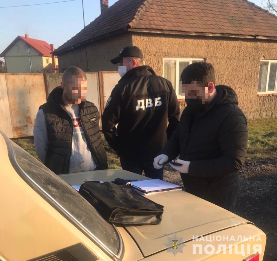 Під час збуту метамфетаміну на Берегівщині затримано наркодилера