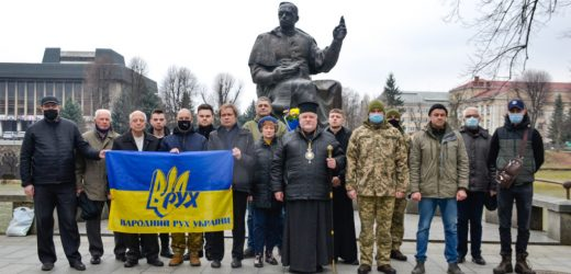 Громадськість Ужгорода вшанувала Карпатську Україну та її президента Августина Волошина