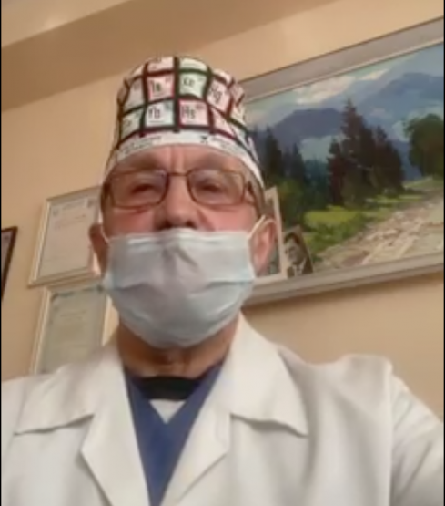 """Головлікар Ужгорода повідомив, що COVID-19 """"помолодшав"""", а медики виснажені (відео)"""
