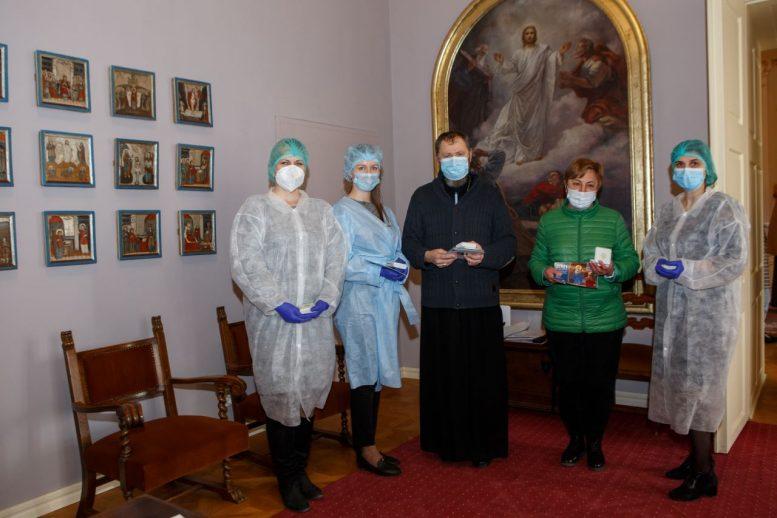 У єпископській резиденції Мукачівської греко-католицької єпархії відбулось планове щеплення священнослужителів