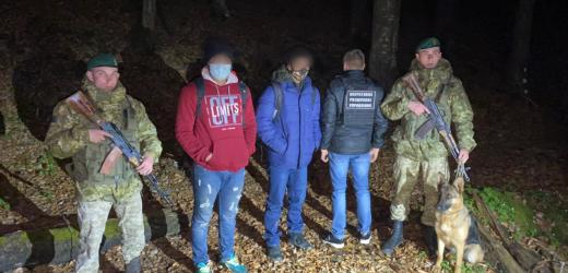 Поблизу кордону з Румунією на Закарпатті затримали нелегалів з Індії