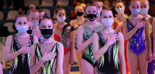 Обласні змагання з художньої гімнастики проходять в Ужгороді